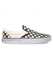 Slip-On Vans Checkers White