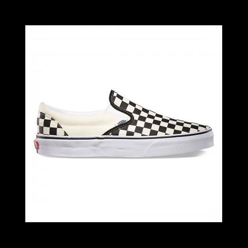 Slip-On Vans Checkers White