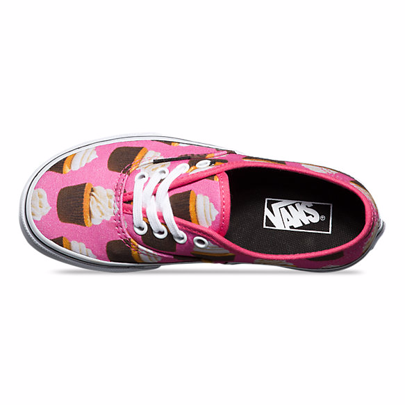 Scarpa Bambina Vans Authentic (late night) col. hot pink cupcakes