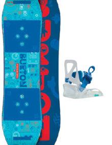 tavola snowboard bambino burton set