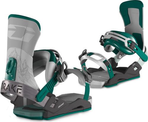 Attacchi snowboard Drake Super Sport