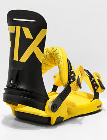 Attacchi snowboard Fix Yale